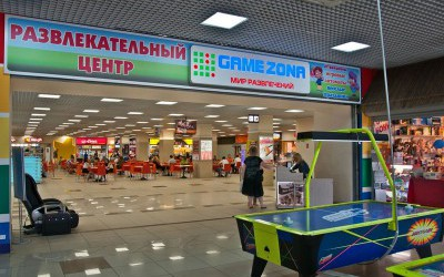 Игоровой центр GameZona, ТК Южный Полюс